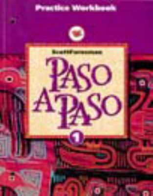 Paso a Paso: Level 1, Practice Workbook