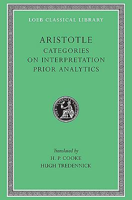 Aristotle The Categories on Interpretation
