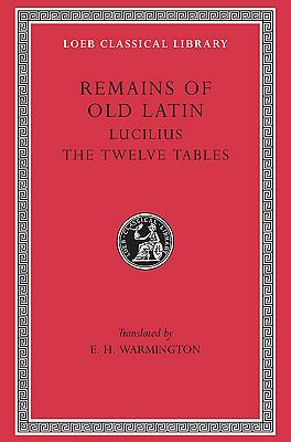 Remains of Old Latin Lucilius, Laws of the XII Tables