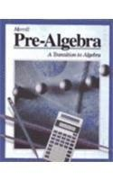 Prealgebra: Transition to Algebra