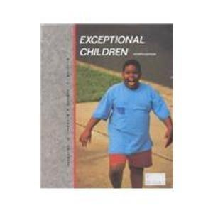 Exceptional Children: An Introductory Survey of Special Education