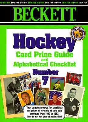 Beckett Hockey Card Price Guide and Alphabetical Checklist; #07