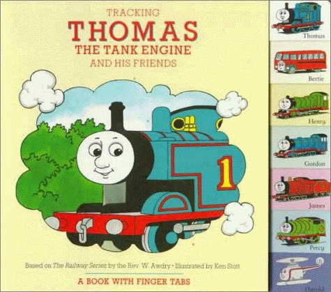 Tracking Thomas the Tank Engine and His Friends: A Book with Finger Tabs