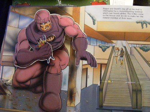 X-Men:  A Pop-Up Book (Marvel Comics)