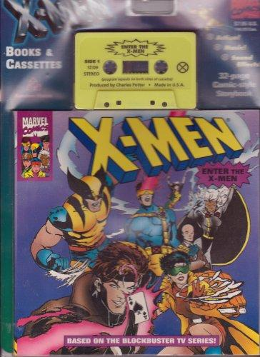 ENTER THE X-MEN BOOK/CASSETTE