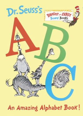 Dr Seuss's ABC An Amazing Book