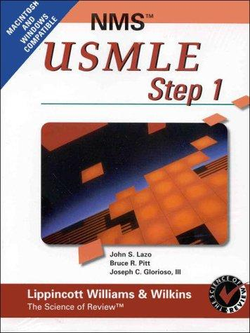 NMS Review for USMLE Step 1 CD-ROM, Version 2.0 (National Medical Series for Independent Study)