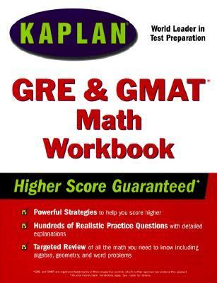 Kaplan GRE/GMAT Math Workbook - Kaplan Educational Centers - Hardcover