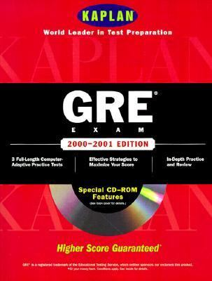 Kaplan Gre Exam-w/cd