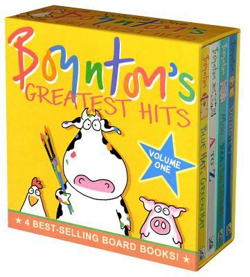 Boynton's Greatest Hits Mo, Baa, LA LA La!/A to Z/Doggies/Bluehat, Green Hat