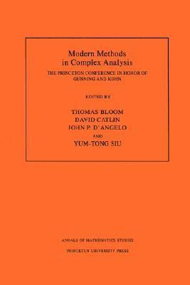 Modern Methods in Complex Analysis