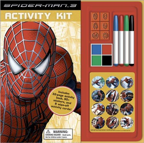 Spider-Man 3 Book with Activity Kit