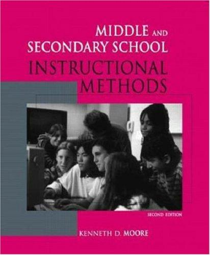 Middle and Secondary School Instructional Methods