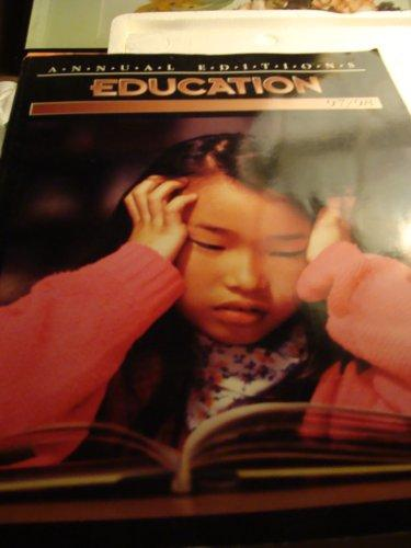 Education 97/98 (24th ed)