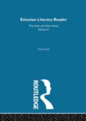 Estonian Literary Reader