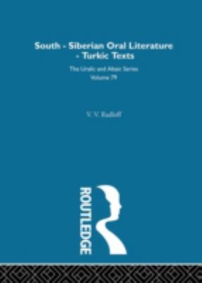 South-Siberian Oral Literature