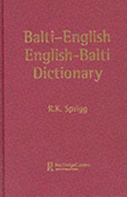 Balti-English/English-Balti Dictionary