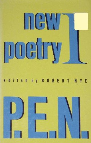New Poetry I, P.E.N. (Vol 1)