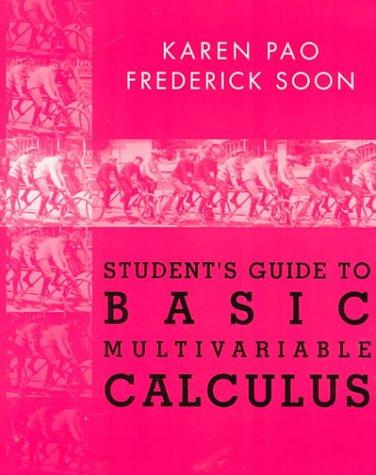 Basic Multivariable Analysis Study Guide