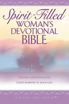 Spirit-Filled Woman's Devotional Bible New King James Version Purple, Finding and Fulfilling God's Purpose in Your Life