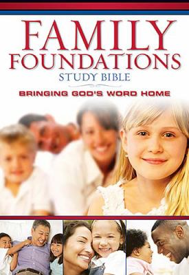Family Foundations Study Bible New King James Version, Black, Bonded Leather, Bringing Gods's Word Home