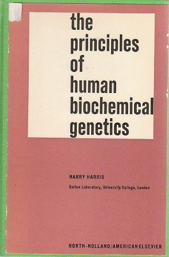 Principles of Human Biochemical Genetics (Frontiers of Biol. S)