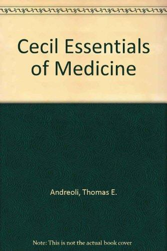 Cecil Essentials of Medicine