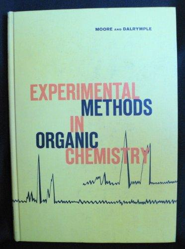Experimental Methods in Organic Chemistry