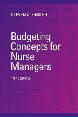 Budgeting Concepts for Nurse Managers