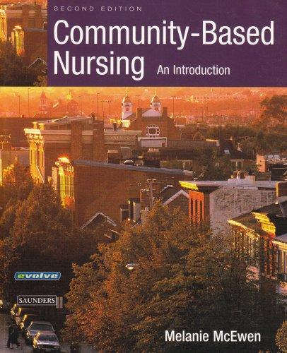 Community-Based Nursing: An Introduction