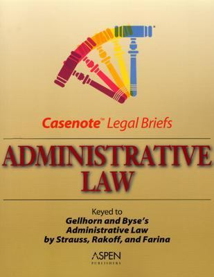 Administrative Law Gellhorn, Strauss