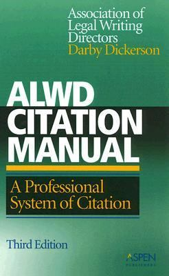 ALWD Citation Manual A Professional System of Citation