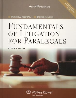 Fundamentals of Litigation for Paralegals 6e W/CD