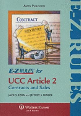 E-Z Rules for Contracts and Sales - Ezon pdf epub