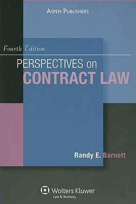 Perspectives on Contract Law 4e