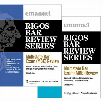 Multistate Bar Exam Review Set (2 Volumes)