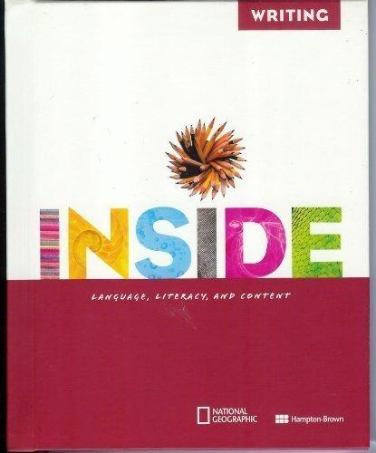 Inside Level E Writing Student Edition