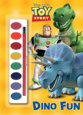 Dino Fun (Disney/Pixar Toy Story) (Paint Box Book)
