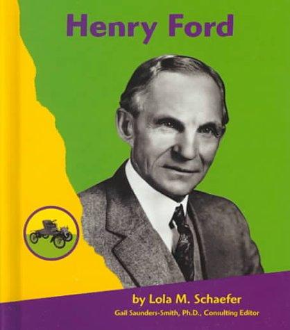 Henry Ford (Famous People in Transportation)