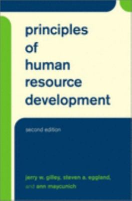 Principles Of Human Resource Development