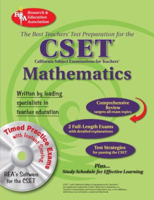 CSET Mathematics W/CD