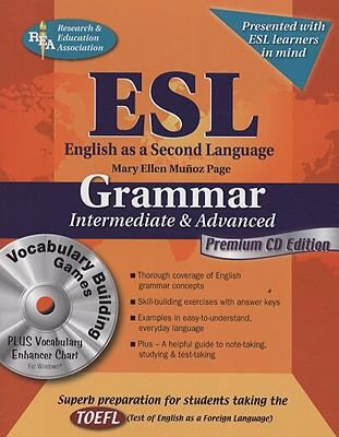 ESL English As a Second Language: Grammar Intermediate and Advanced