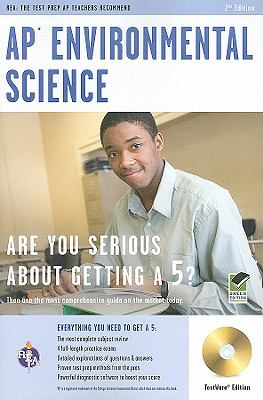AP Environmental Science with CD-ROM (REA) (Test Preps)