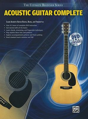 Ultimate Beginner Series: Acoustic Guitar Complete (Book & DVD (Sleeve))