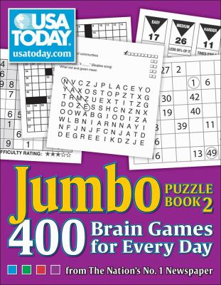 USA TODAY Jumbo Puzzle Book 2: 400 Brain Games for Every Day