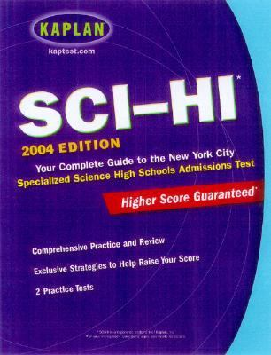 Shsat 2003-2004 Your Complete Guide to the New York City Specialized High School Admissions Test