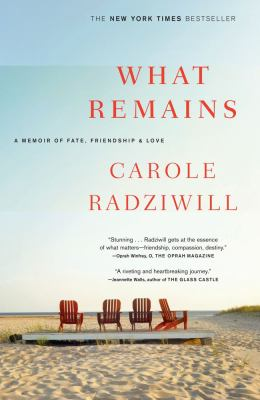 What Remains A Memoir of Fate, Friendship, and Love