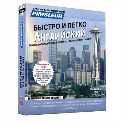 Pimsleur English for Russian Speakers Learn to Speak and Understand English As a Second Language