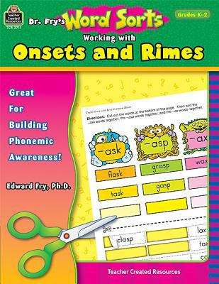 Dr. Fry's Word Sorts Working with Onsets and Rimes