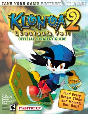 Klonoa 2 Lunatea's Veil Official Strategy Guide